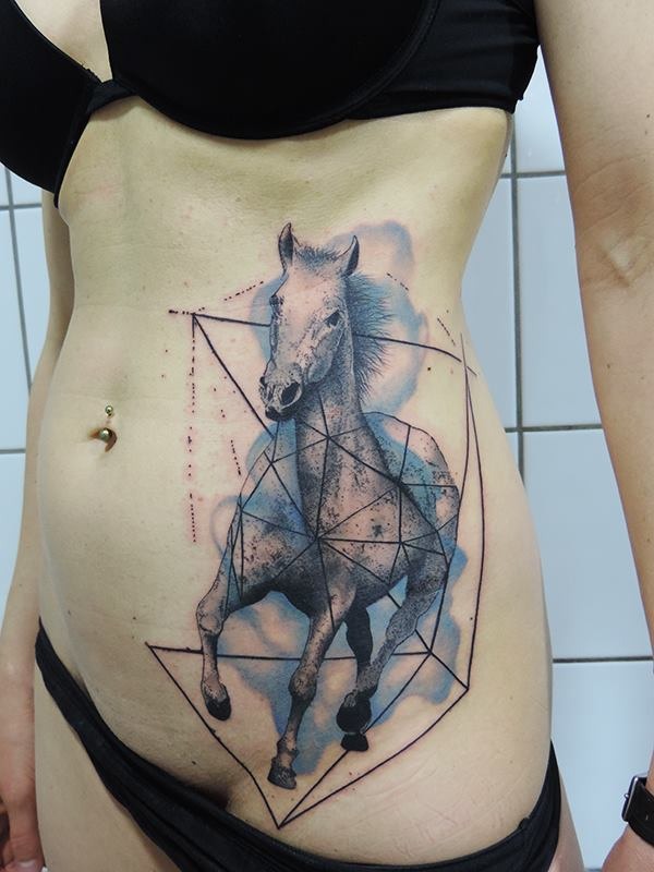 needles side tattoo inkin. Black Bedroom Furniture Sets. Home Design Ideas