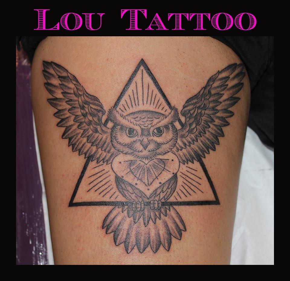 Lou Tattoo Inkin