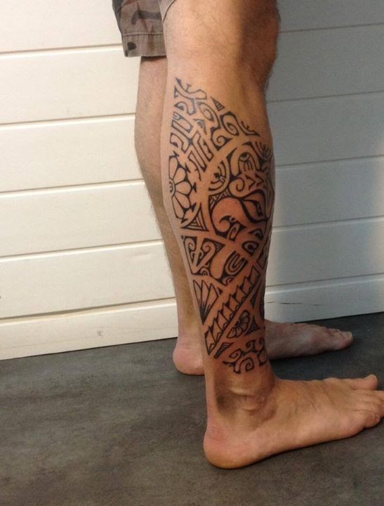 Tatouage Maorie Mollet : dermafolies inkin ~ Nature-et-papiers.com Idées de Décoration