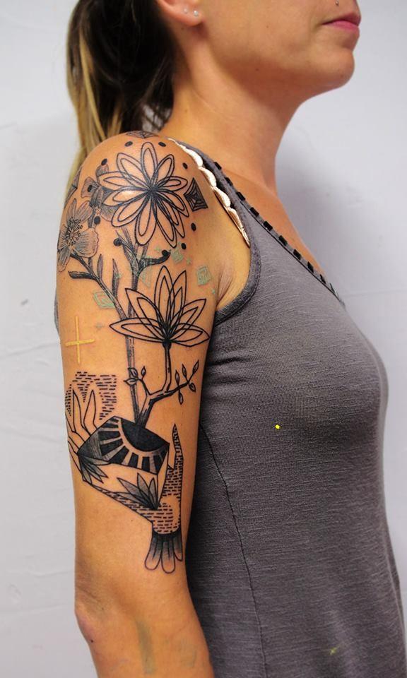 Needles Side Tattoo Inkin