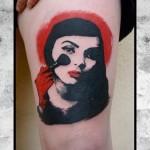 inkin - tatouage portrait sur la cuisse - mikki bold.jpg