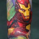 inkin - tatouage iron man sur bras - atelier 168.jpg