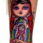 inkin - tatouage poupées russes sur bras - body titane.jpg