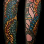 inkin - tatouage graphique sur bras - artifist.JPG