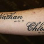 inkin - tatouage prénoms calligraphie sur bras - addict'ink.jpg