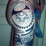 inkin - tatouage polynésien fesse cuisse - Krieriens Design.jpg