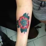 inkin - tatouage fleur avant bras - MDS.jpg