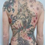 inkin - tatouage geisha japonais sur dos - beauty tattoo.JPG