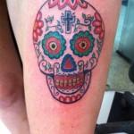 inkin - tatouage santa muerte sur la cuisse - mogs tattoo.jpg