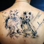 inkin - tatouage pandas graphique sur dos - crazy needles.jpg