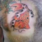 inkin - tatouage poisson japonais koi sur poitrine - angel tattoo.jpg