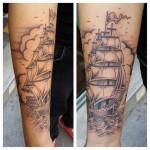 inkin - tatouage bateau à voiles sur bras - 23 keller.jpg