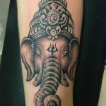 inkin - tatouage ganesh sur le bras - Med tattoo.jpg