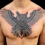 inkin - tatouage hibou sur la poitrine - 7 rue d'échange.jpg