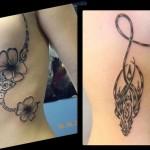 inkin - tatouages fleurs et tribal sur côtes - art's mary jp tattoo.jpg