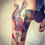 inKin-tatouage-arme-pissenlit-coquelicot-crane-bras-JZ INK.jpg