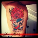 inkin - tatouage custom - merries melody.jpg