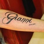 inkin - tatouage calligraphie prénom sur bras - chris tattoo shop.JPG