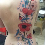 tatouage coquelicot dos-originals tattoo bresles.jpg