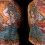inkin - tatouage femme japonaise sur dos - christian tatouage.JPG