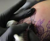 De la conception à la réalisation d'un tatouage dans une séquence en super slow motion
