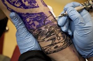 stencil pour tatouage - Inkin