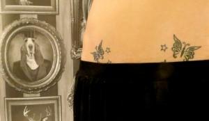 Tatouage de papillons