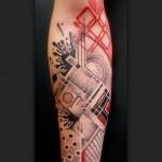 style de tatouage abstrait5