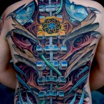 style de tatouage biomeca1