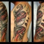 style de tatouage biomeca4