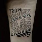 style de tatouage calligraphy1
