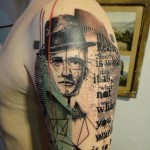 style de tatouage graphique 2