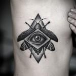 style de tatouage graphique 4