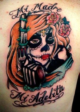 60 day of the dead tattoos you will want to get asap - 600×926