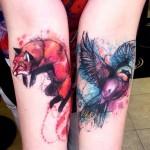 style de tatouage peinture