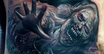 inkin - selection de tattoos zombie - walking dead