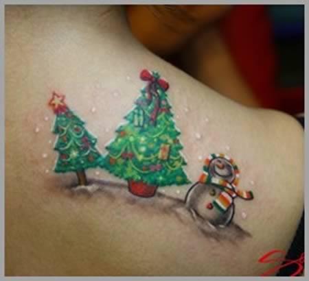 inkin - selection tatouages de noel (1)