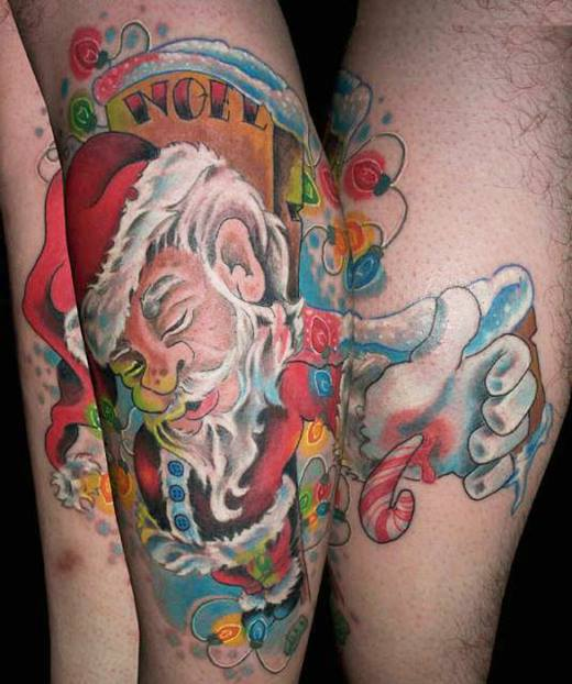 inkin - selection tatouages de noel (2)
