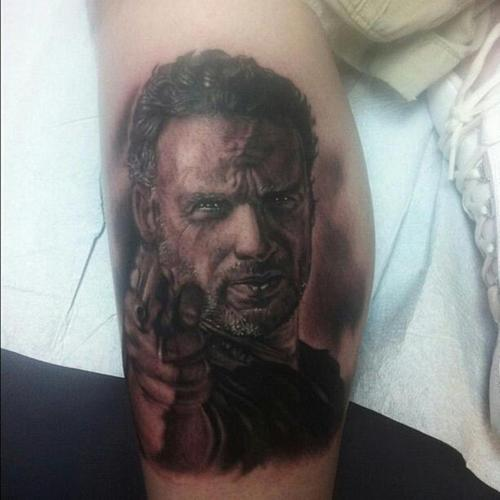 inkin - tatouage rick grimes - walking dead