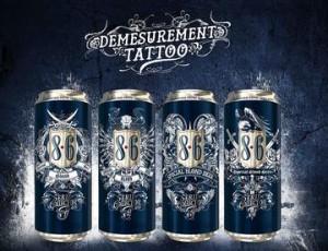 bière bavaria 86 démesurément tattoo