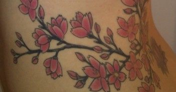 inkin - tatouage sakura maud