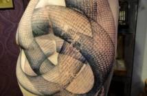 Tatouage graphique par Xoil