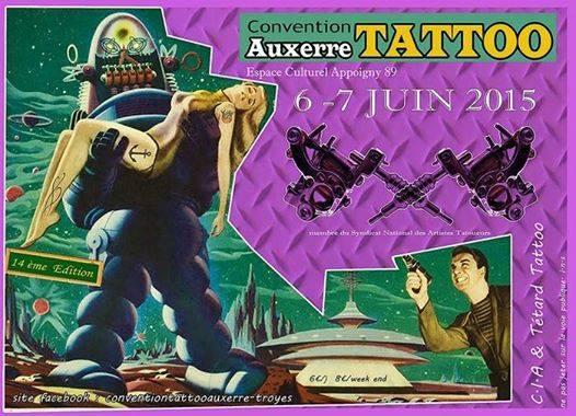 Convention de tatouage Auxerre