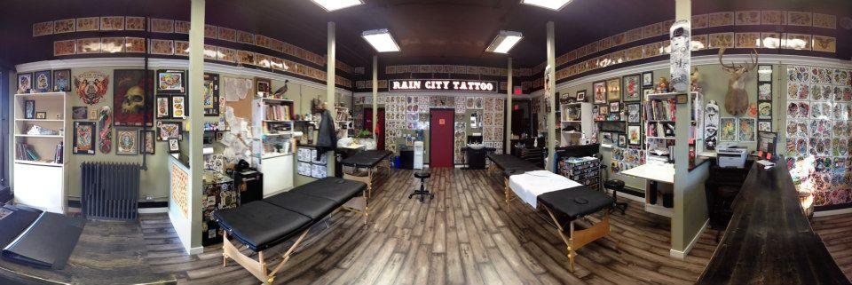 inkin - rain city tattoo