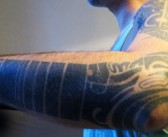 Le tatouage de Fred Ceraudo par Sailor Kea
