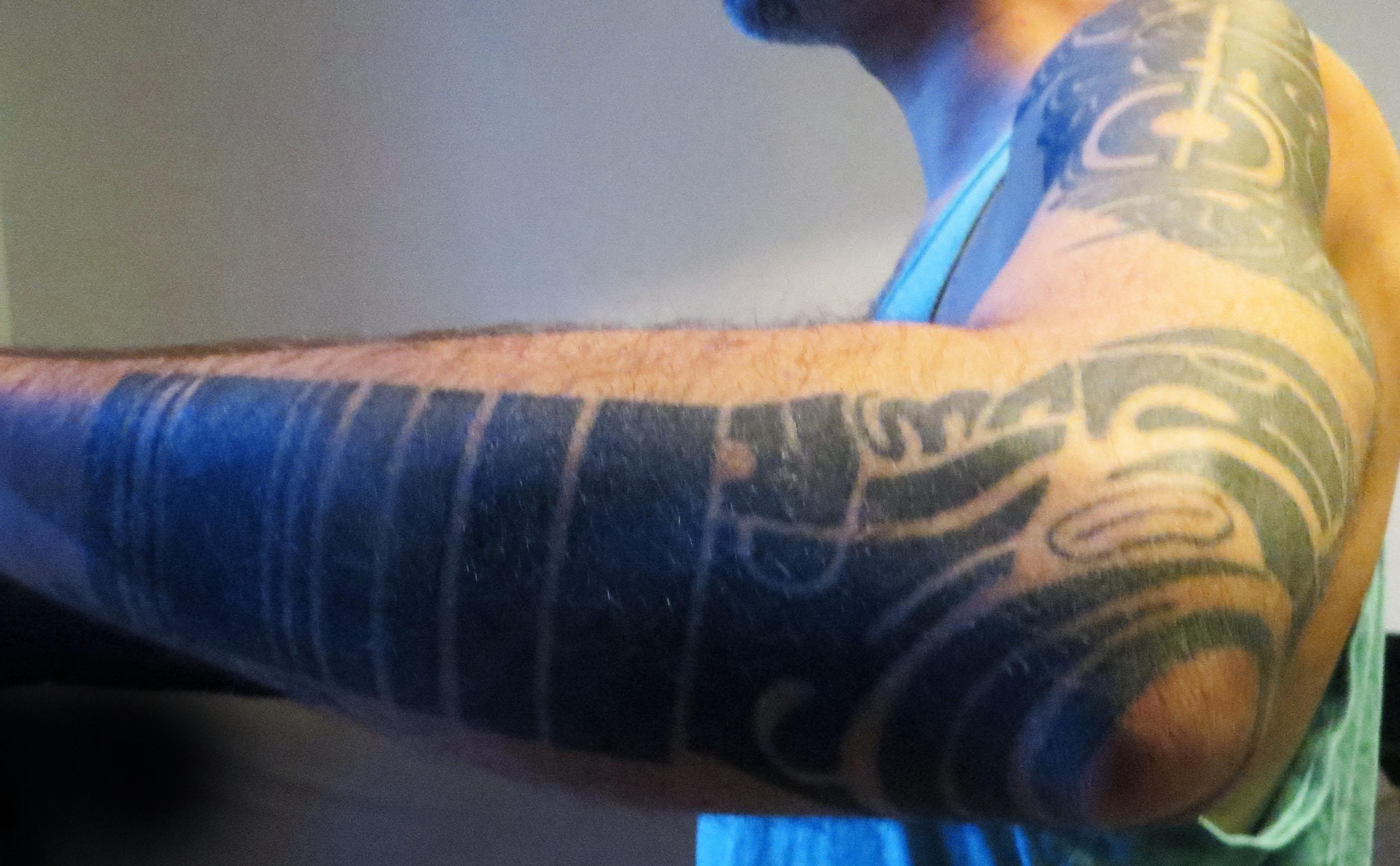 Le Tatouage De Fred Ceraudo Par Sailor Kea Inkin