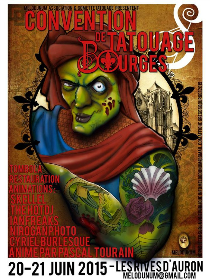 Convention Tatouage de Bourges 2015