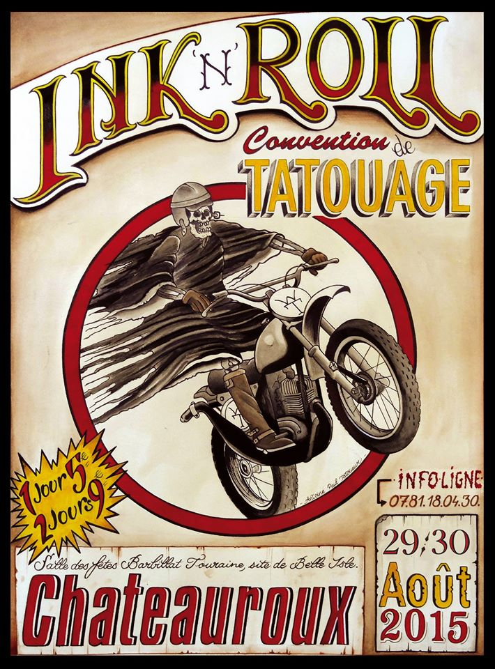 Ink'n roll Tattoo Festival Chateauroux 2015a