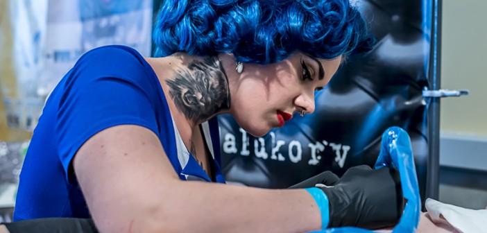 La convention tatouage d'Auxerre et de Troyes en photos