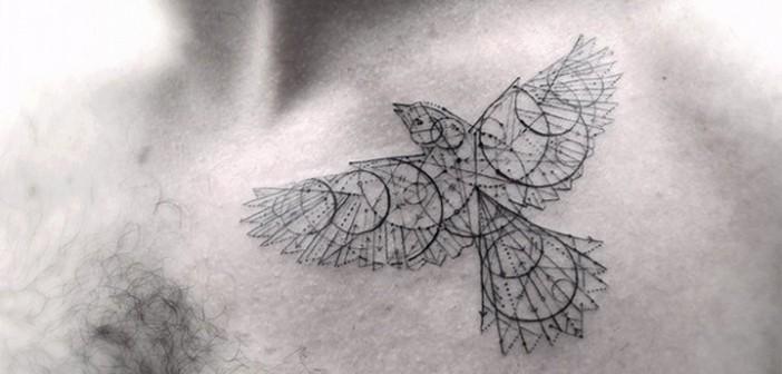 Les tatouages délicats de Dr Woo